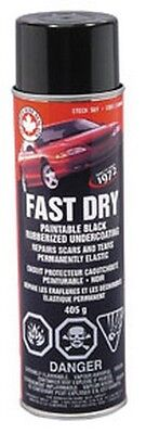 Fast Dry Rubberized Undercoat, (850ml Can) DOM-SUF Brand New!