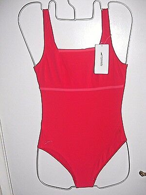 """New With Tags Speedo Womens Sculpture Premiere Tank  Swimsuit Uk  Size 34"""" Chest"""