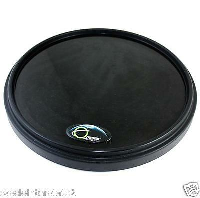 """Offworld Percussion 13.5"""" Invader V3 Drum Practice Pad (V3B) w/ Gibraltar Stand"""