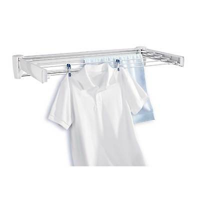 Leifheit Telegant 70 wall mounted clothes airer / dryer - white, 3 year warranty
