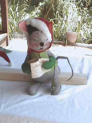 """ANNALEE Mobilitee  Dolls, Christmas Mouse, 12"""" With Tags"""