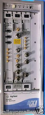 Agilent E8408A 70 MHz 4-Slot VXI Mainframe With Option:001, E8491B,89605B,E1439C