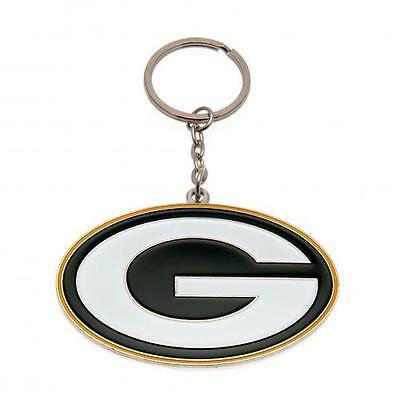 Official Licensed NFL Product Green Bay Packers Keyring Crest Brand New