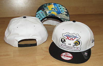 SUPER BOWL XIV Pittsburgh Steelers v Los Angeles Rams 9FIFTY SNAPBACK HAT CAP