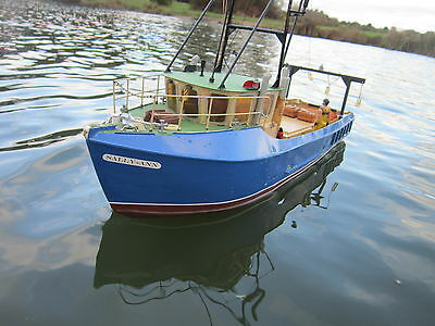 Vintage Sally-Anne Fishing Boat
