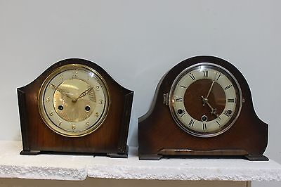 2 Old mantle clocks for renovation westminster chime and a striker [Perivale]