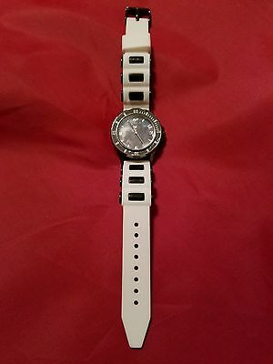 "*reduced* Accutime Star Wars ""storm Trooper"" Watch -White/black Band- Swm3075Kl"