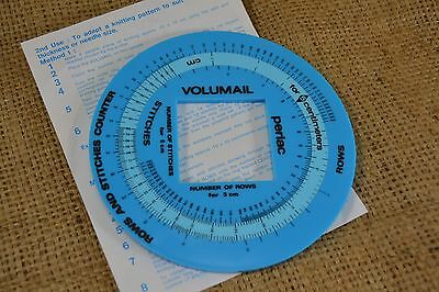VOLUMAIL Perlac knitting row and stitch counter