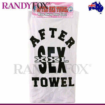 Adult Novelty - After Sex Towel - PipeDream