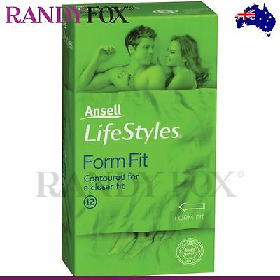 NEW Ansell Lifestyles 12s Tight Fitting Condom