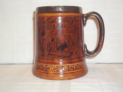 Lord Nelson Pottery Mug Beer Stein 1970 England Beer Lovers