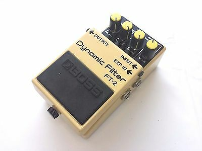 Boss FT-2 Dynamic Filter Guitar Effects Pedal made in JAPAN free shipping