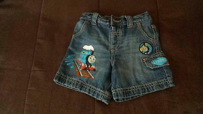Boy denim shorts 9-12 months