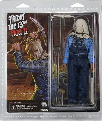 """FRIDAY THE 13TH - Jason Voorhees 8"""" Part 2 Action Figure (NECA) #NEW"""