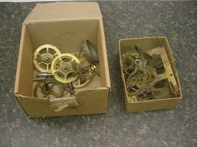 2.4 lbs Seth Thomas Gilbert Clock maker Main Timing Gears Brass Steam Punk E602