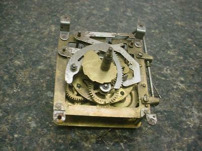 German-Made Hubert Herr Triberg Brass Cuckoo Coo Coo Clock Movement E267b