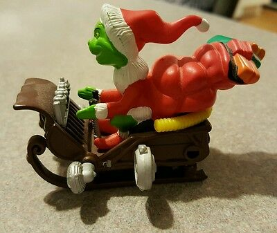 How The Grinch Stole Christmas Who-Mobile Grinch Sled Die-cast