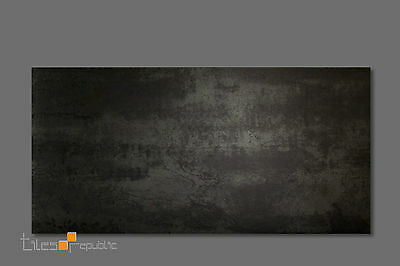 Metallic Rust Matt Porcelain Floor & Wall Tile 300x600