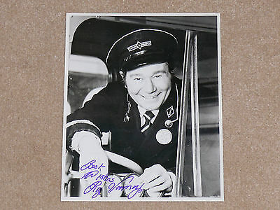 "Original REG VARNEY Signed / Autographed ON THE BUSES 10"" x 8"" Photograph"