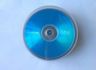 Lots Of Memorex DVD-R Spindle Colored Pack Disc-4.7GB-25 PK