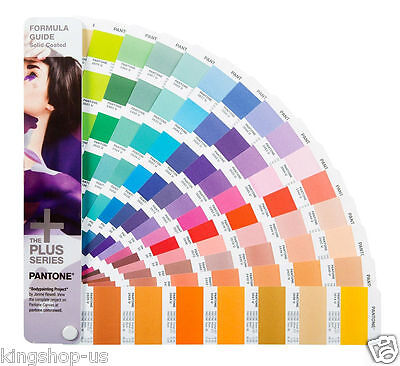 NEW 2016 PANTONE GP1601N Formula Guide Solid Plus Series COATED BOOK ONLY