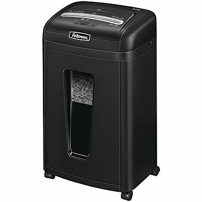 Fellowes Powershred 455Ms 9-Sheet Micro-Cut Paper and Credit Card Shredder with