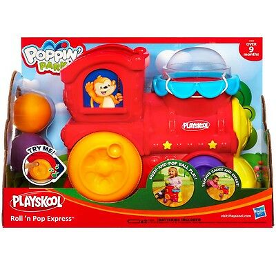 New Hasbro Playskool Poppin Park Roll 'n Pop Express Train Toy 31942