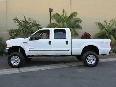 1999 Ford F-250 FREE SHIPPING! 7.3L DIESEL CUSTOMIZED $$$ F-250 7.3L Diesel 4X4 CrewCab Short Bed XLT LIFTED EXCELLENT CONDITION LOW MILES