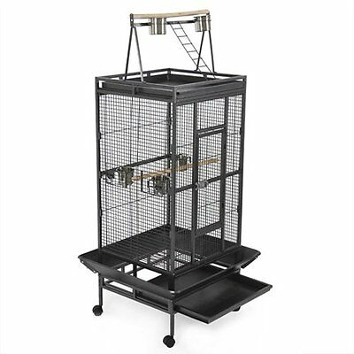 Best Choice Products New Large Play Top Bird Cage Parrot Finch Macaw Cockatoo...