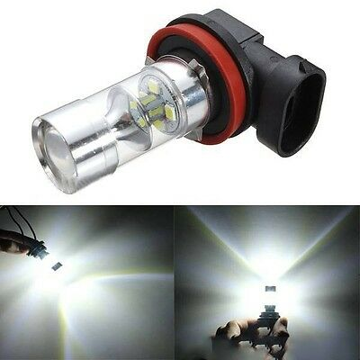 2x High Power LED Fog Light 60W H8 H11 White Samsung 2835 Driving Projector Bulb