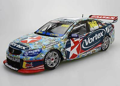 Craig Lowndes 1:18 2016 Darwin Livery V8 Supercars Vortex Holden VF Commodore