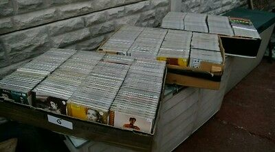 BUNDLE APPROX 600 MUSIC CD'S,  COLLECTION ONLY mixed music