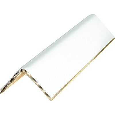 Edge Protectors Cased 0.160in 2 1/2in x 2 1/2in x 36in White Pack of 60