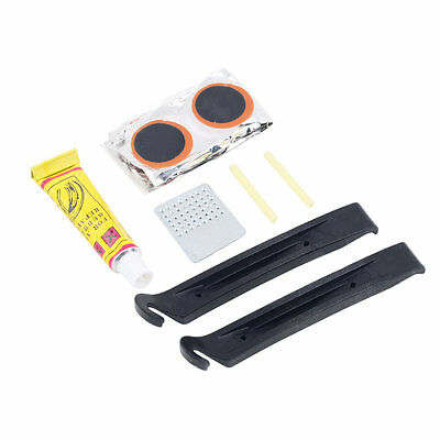 Flat Rubber Tire Tyre Tube Patch Glue Cycling Bicycle Bike Repair Fix Kit GT