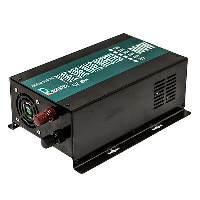 Pure Sine Wave Inverter 800W Car Power Inverter  12V DC to 240V AC Solar System
