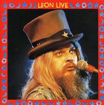 Leon Live - 2 DISC SET - Leon Russell (1996, CD NEUF)