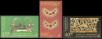 Kazakhstan - 1998 - National Treasure, 3v