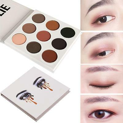 9 Colors Lady Eye Shadow Make Up Cosmetic Shimmer Matte Eyeshadow Palette Set BH