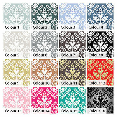 Damask Tile Stickers Baroque Transfers for Kitchen, Bathroom and Furniture DIY