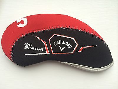 11 RIGHT Handed Callaway big bertha golf iron head covers headcovers