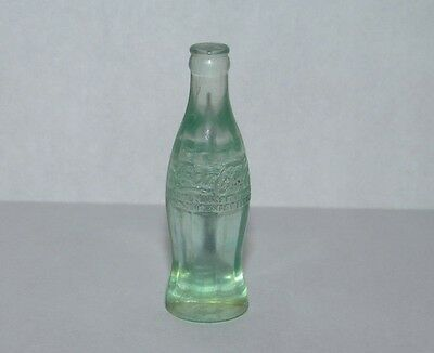 "Vintage Coca Cola Miniature 1 1/5"" Tall Bottle HTF Rare EUC"