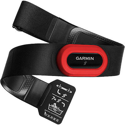 New Genuine Garmin HRM - Run Heart Rate Monitor - Red/Black