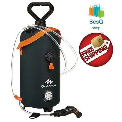 Quechua Portable Hiking Camping Travel Shower 8 L