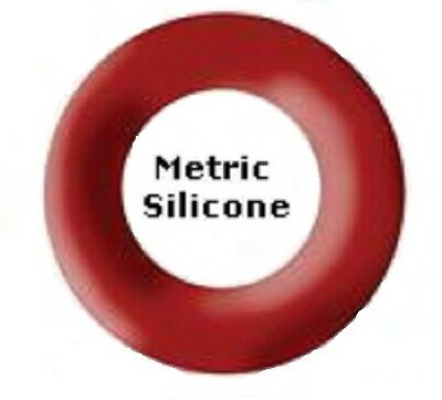 Silicone O-rings 3.68 x 1.78mm Price for 100 pcs