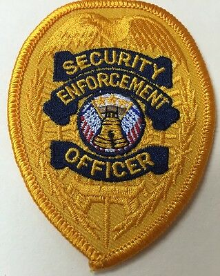 Puerto Rico Police Patch...security Enforcement Officer San Juan