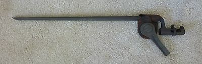 US Model 1873 Bayonet with metal  scabbard  Nice shape