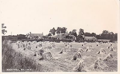 Aberdeenshire: BALLOGIE - MARYWELL Real Photo R.P. about 1955.