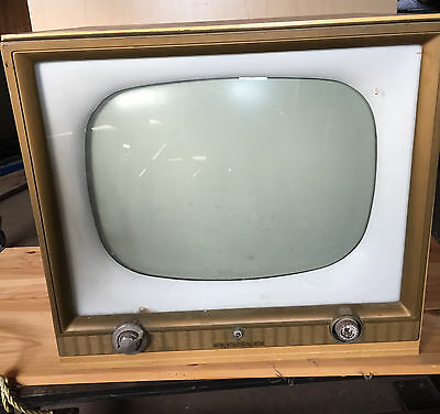 "Vintage Antique Sylvania Model 425B Tv Console Television Gse-5110A    ""t1107"""