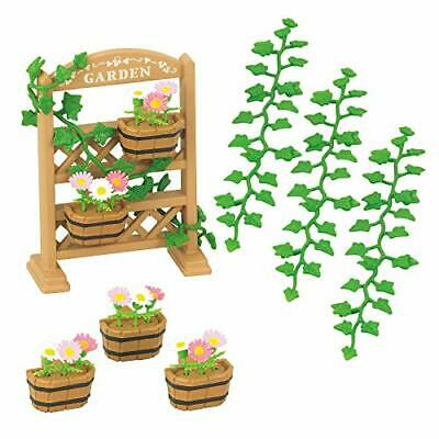 Epoch Calico Critters Sylvanian Families FLOWERS IVY SET
