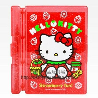 Japan Sanrio Hello Kitty Notebook & Color Pen  Box Set -Red 348734